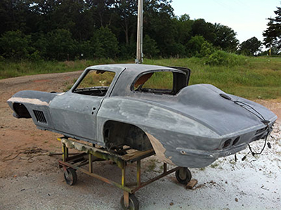 Vintage - Classic Pre-Build Corvette Consulting Services